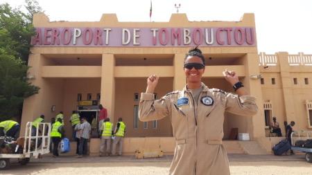 Så er det ikke kun Anders And der har været i Timbuktu :-)