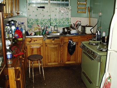 Ondskabens akse køkkenet, det er her rotterne hersker.