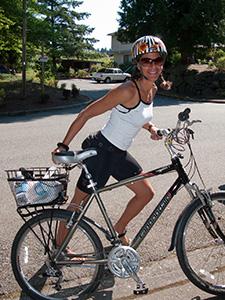 Starten på en klassisk cykelromance......
