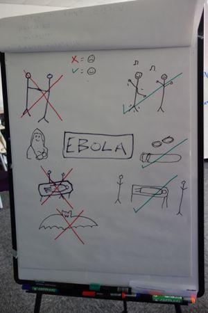 Kreativiteten på kurset kendte ingen grænser.