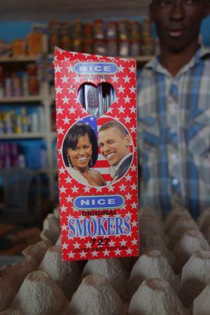"Obamafarvet? Nu som ""Nice smokers"" tandpasta, det må da være godt."