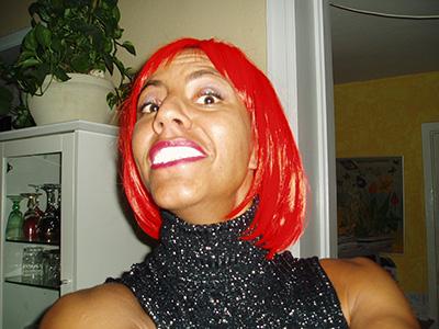 Hende med det røde hår?