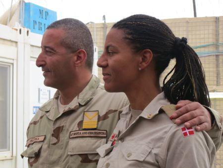 Min faste støtte, den bosniske Sgt. Major