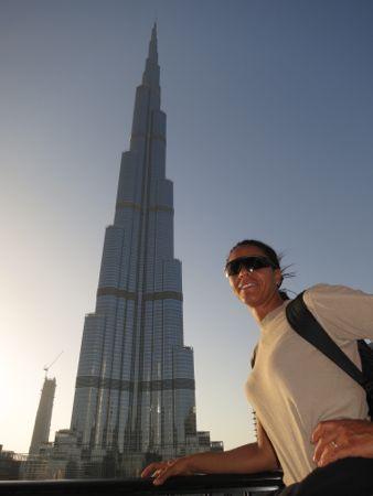 Verdens højeste bygning i Dubai.