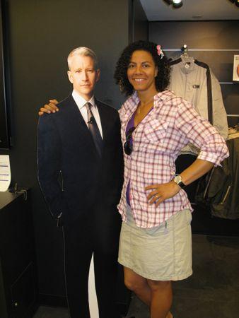 Min date med Anderson Cooper blev knapt så fysisk som i mine våde drømme... well, you can't win 'em all ;o)