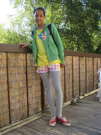 Ja, man må ikke ha' shorts udenpå strømpebukser, men gerne hvis man tager shortsene af og bare går i strømpebukser, det er da klart? Aaaarrrggghhhh!
