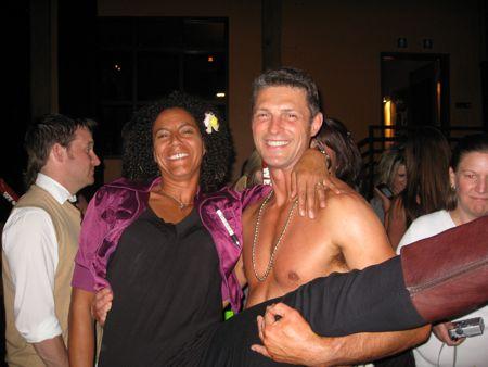 Min klæbrige ven DeVon, der gudhjælpemig vandt en plads i kalenderen, good job!