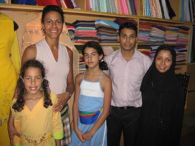 Skrædderen tjente en årsløn på familien Søborgs indiske klædedragter.