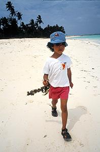 Ellers var det en god strand at tulle rundt på.