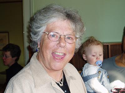 Min mor, Fru Pigallup.